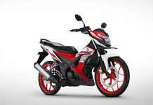 Honda Sonic 150R Versi 2018 Honda Racing Red