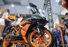 New KTM RC200 Back In Black Indonesia