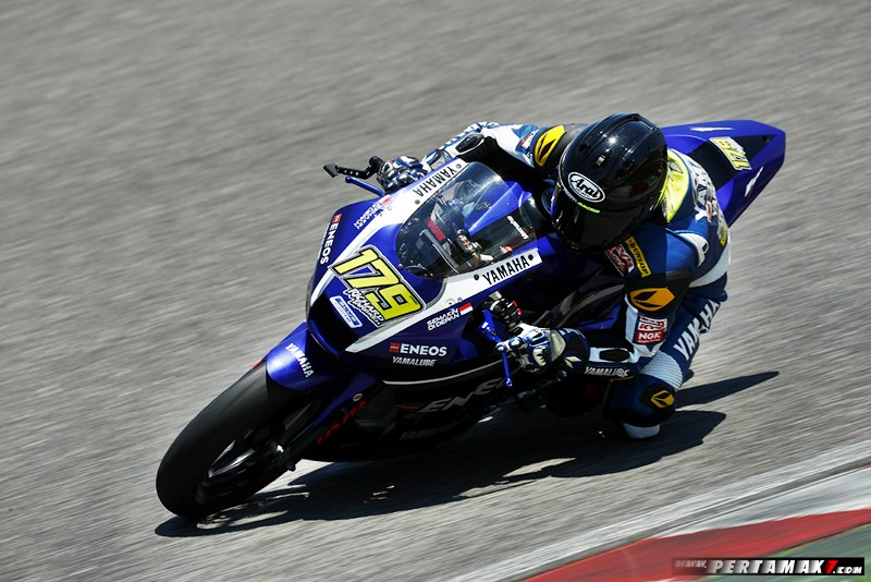 Richard Taroreh, Tim YRI Rider ARRC 2018 AP250 Yamaha Racing Indonesia Optimis di ARRC India