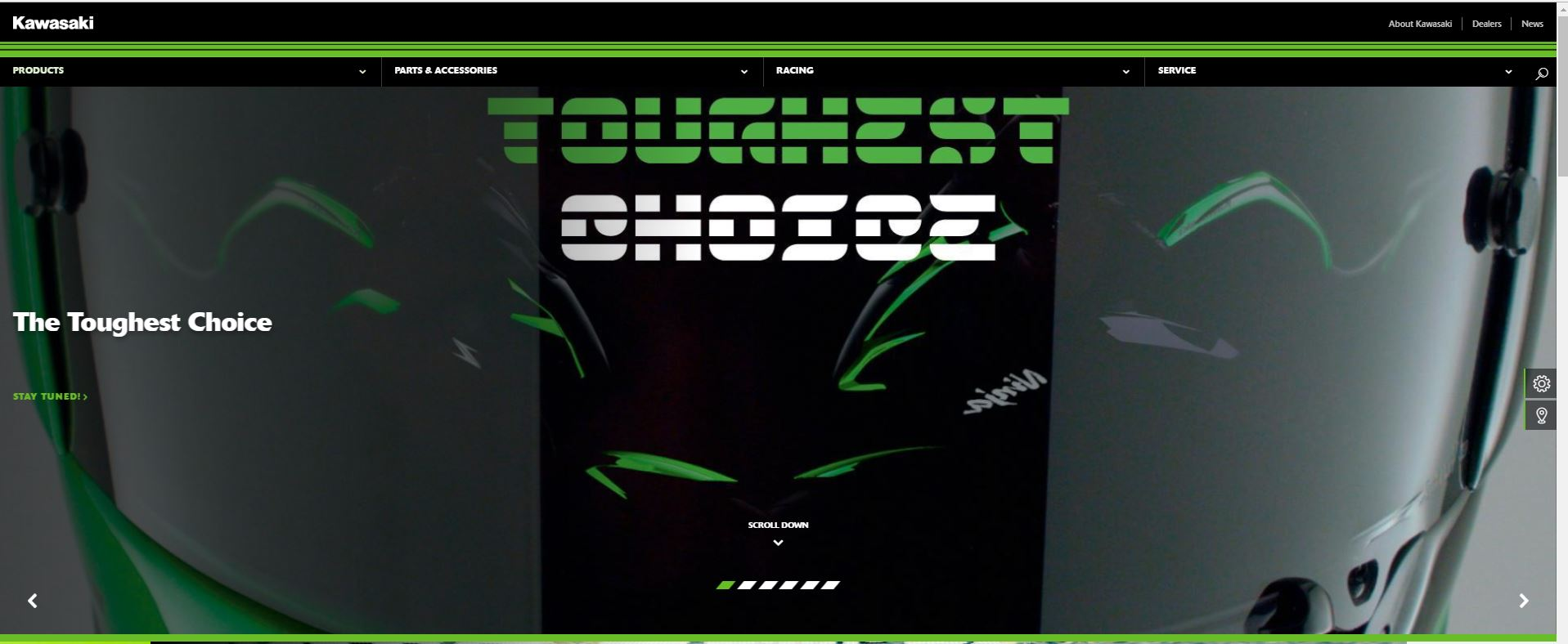 Teaser Kawasaki The Toughes Choice Ninja 125 VS Z125