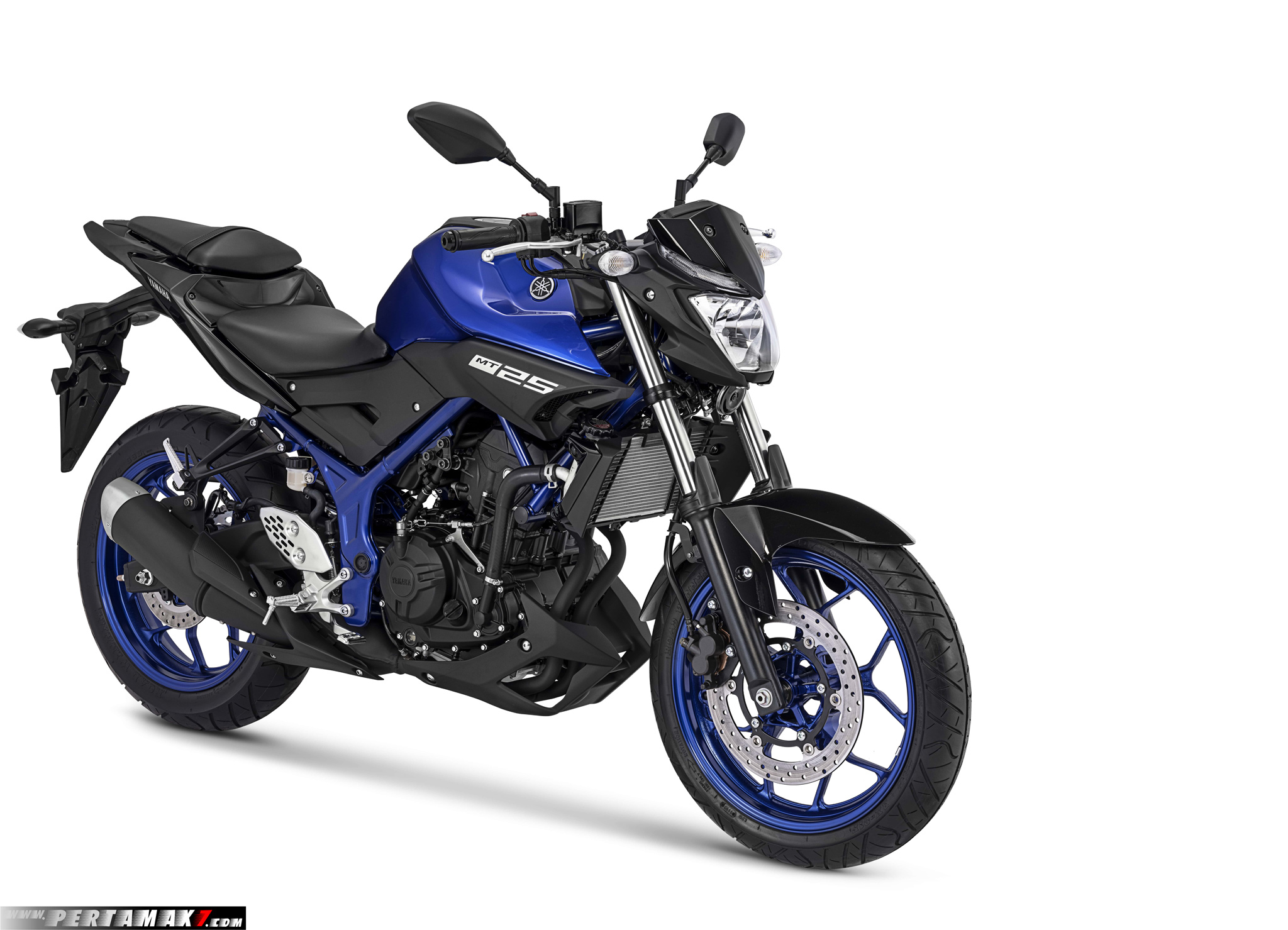 Warna Baru Yamaha MT-25 Versi 2019 Blue Metallic
