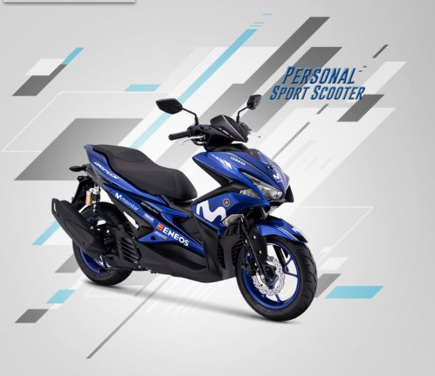 Yamaha Aerox 155 R Version Movistar MotoGP Last Edition 2018