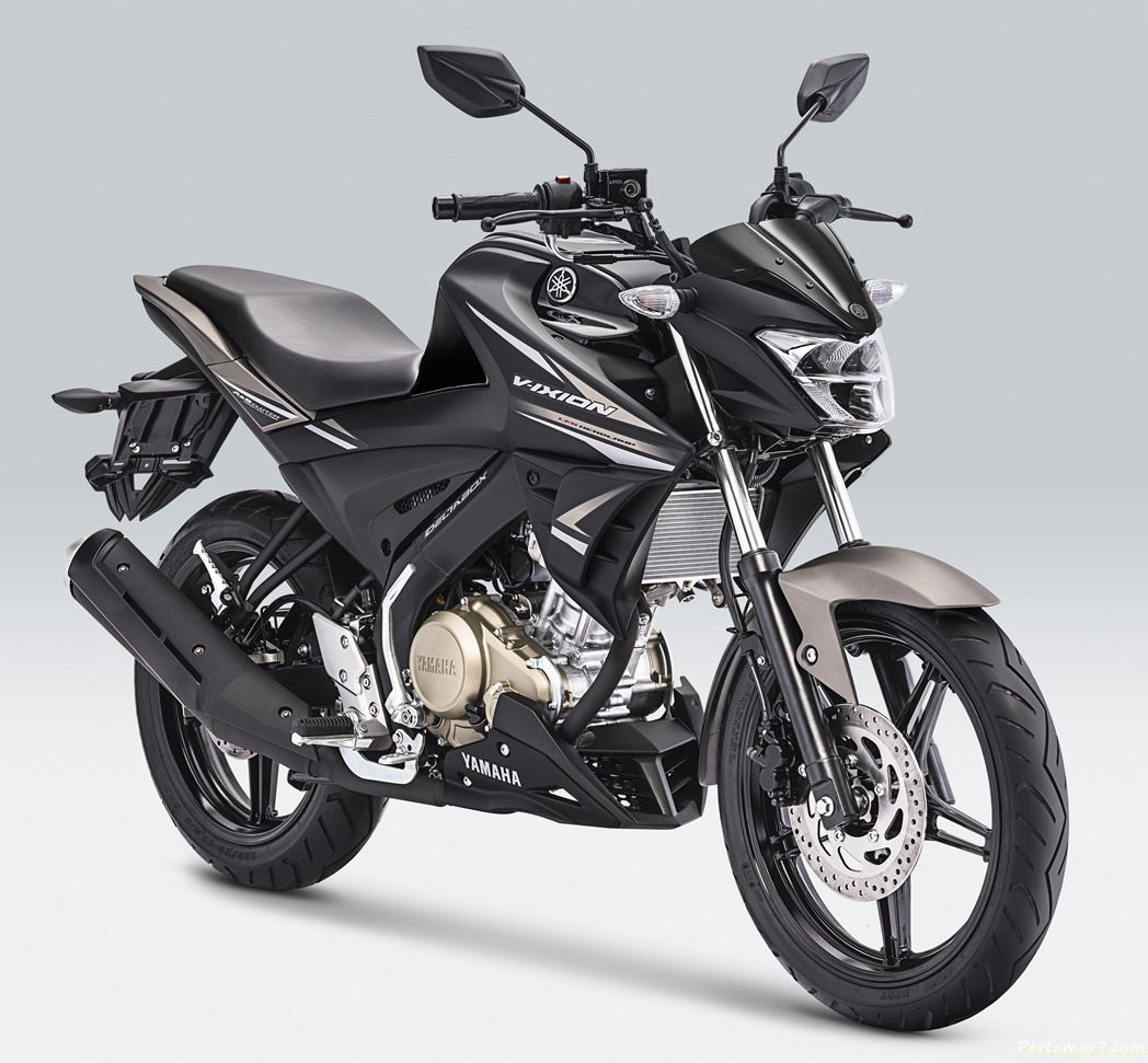 Yamaha All New Vixion Metallic Black P7