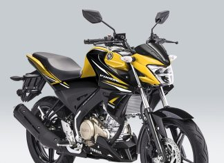 Yamaha All New Vixion Metallic Yellow P7