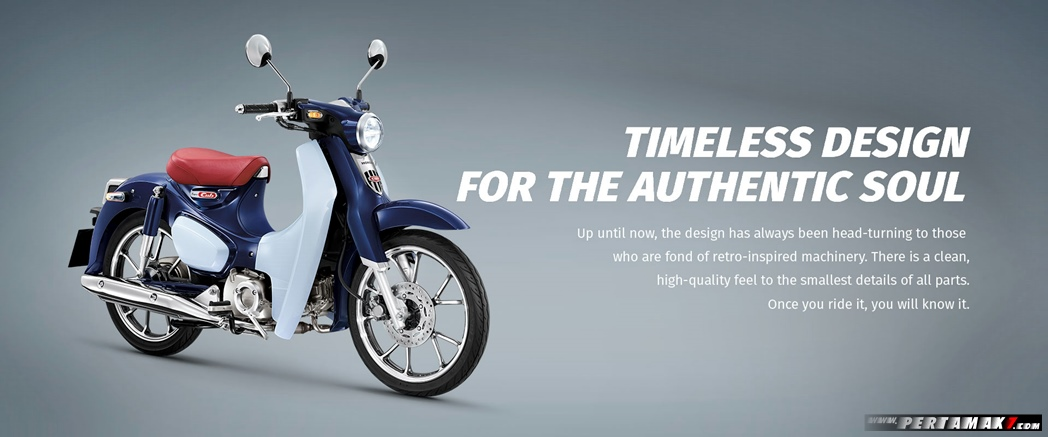 fitur Honda Super Cub C125 Timeless Design For The Authentic Soul p7