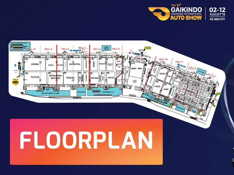 floorplan GIIAS 2018