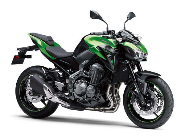 2018 kawasaki Z900 Warna Candy Lime Green Metallic Flat Spark Black 18ZR900D_40SGN2DRF2CG_A_001