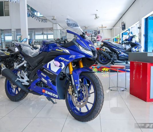 Bertemu Yamaha All new R15 Movistar 2018