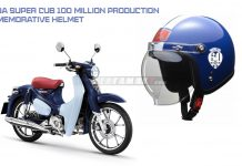 HONDA Super Cub 100 Million Production Commemorative Helmet