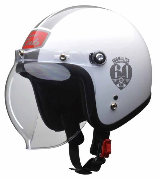 Helm Honda Super Cub Special Edition White