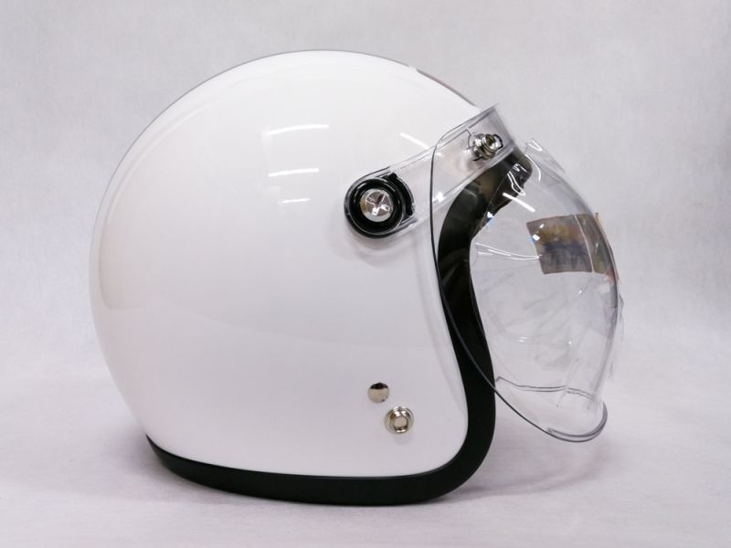 Helm Honda Super Cub Special Edition white Right