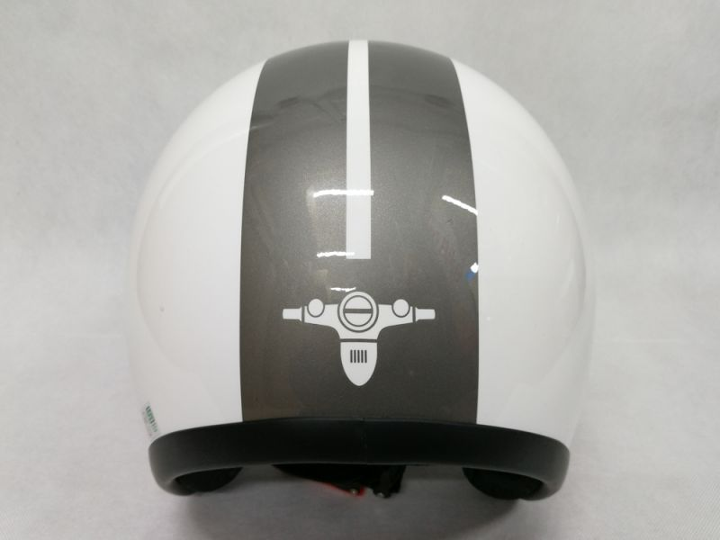 Helm Honda Super Cub Special Edition white rear