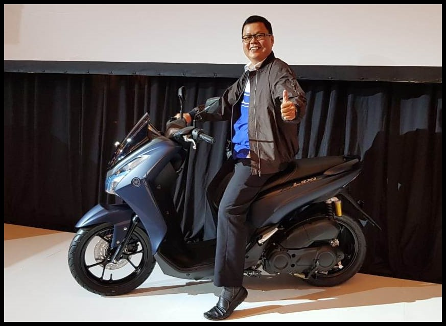 Hendro Pemilu, GM Marketing dari Main Dealer Yamaha PT. Aneka Makmur Sejahtera