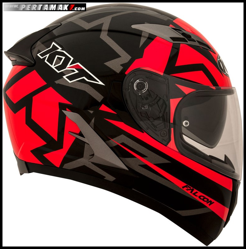 KYT FALCON EU Faster Red 007 P7