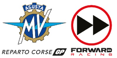 Logo MV Agusta Reparto Corse GP Forward Racing Team Moto2 2019