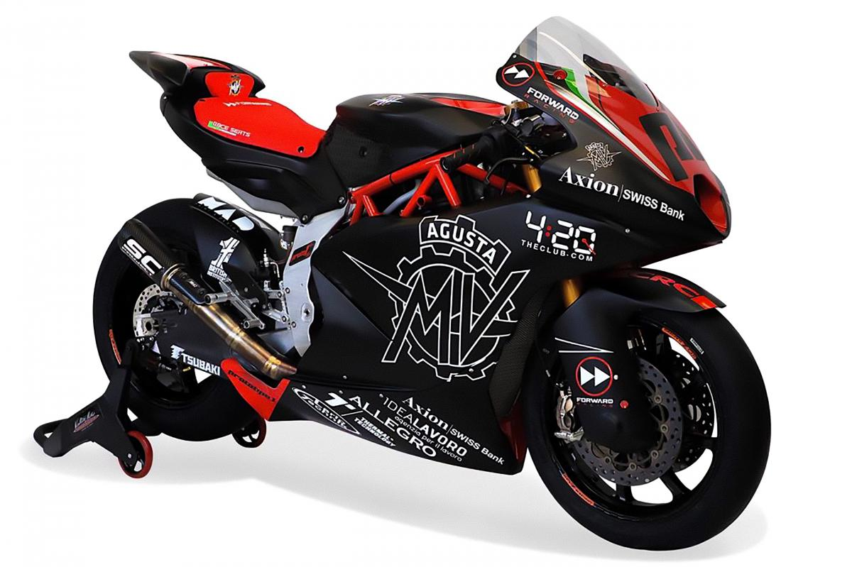 MV AGUSTA Forward Racing MOTO 2 Bike 2019