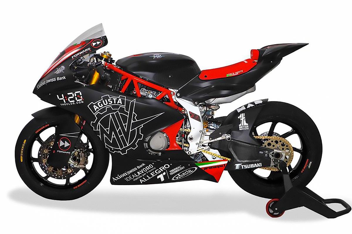 MV AGUSTA Forward Racing MOTO 2