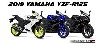 Pilihan Warna Yamaha All New R125 MY 2019
