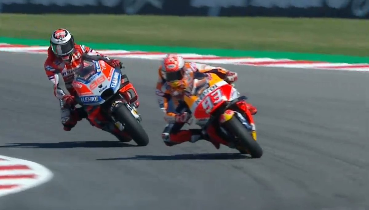 Side By Side MotoGP Misano 2018