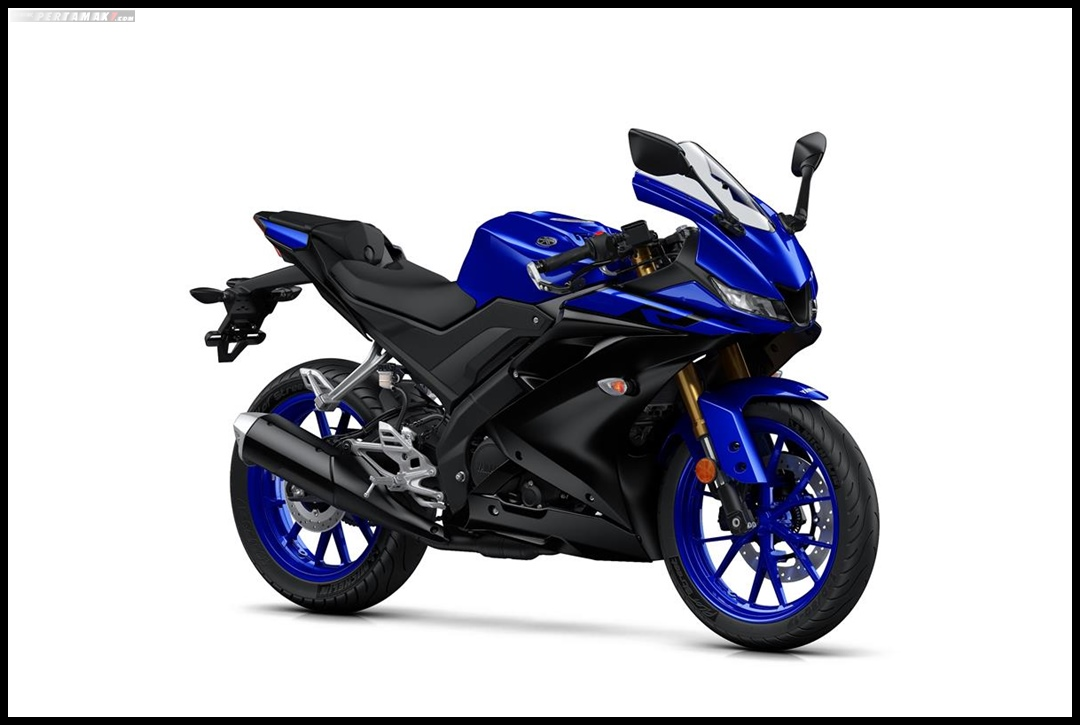 Yamaha All New R125 MY 2019 Warna Biru Yamaha Blue Depan Kanan Pertamax7