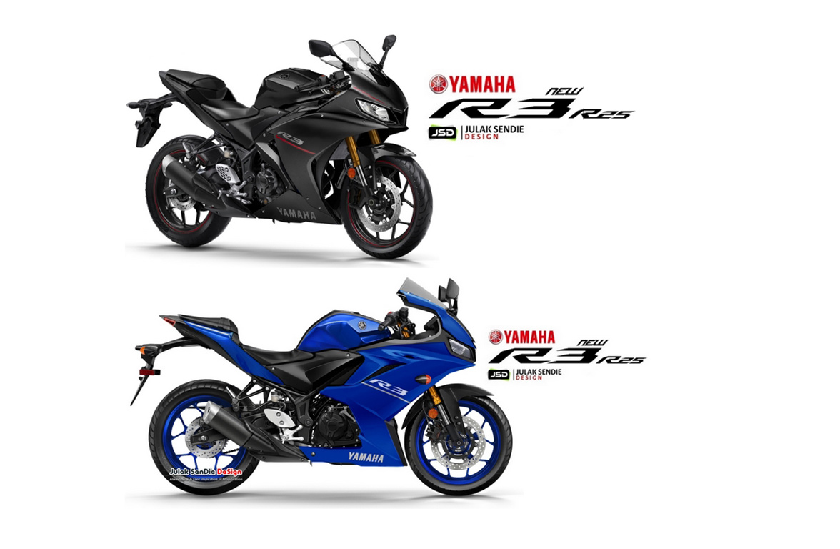 Yamaha All New R25 render julan sendie
