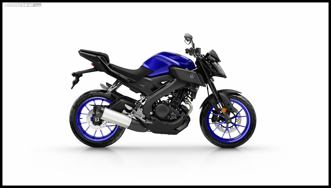 Yamaha MT-125 MY 2019 Warna Biru Yamaha Blue P7