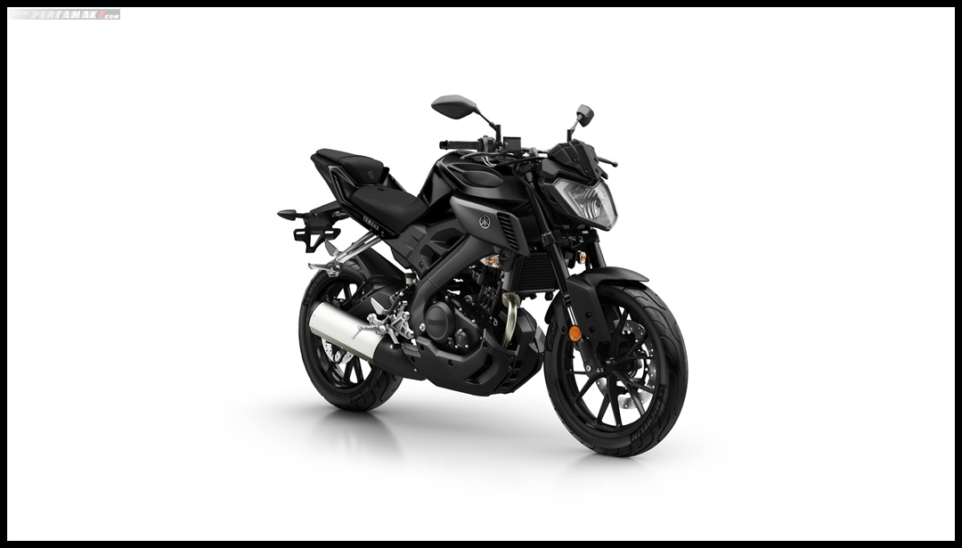 Yamaha MT-125 MY 2019 Warna Hitam Tech Black P7