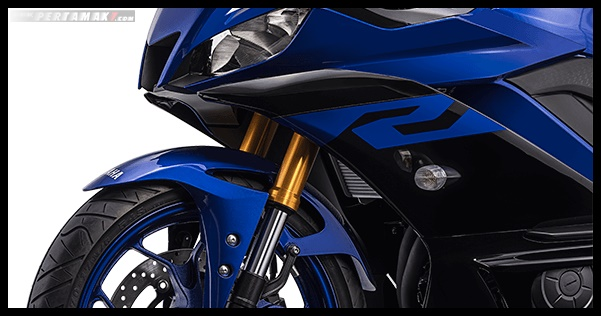 Fitur Yamaha R25 Facelift 2019 Upside Down Suspension P7