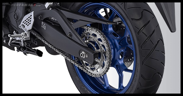 Fitur Yamaha R25 Facelift 2019 Wide Tire P7
