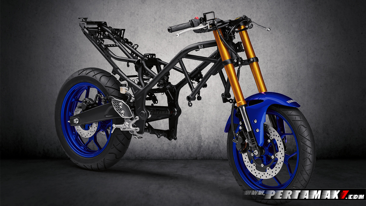 Frame Yamaha New R25 R3 Facelift 2019 Upside Down