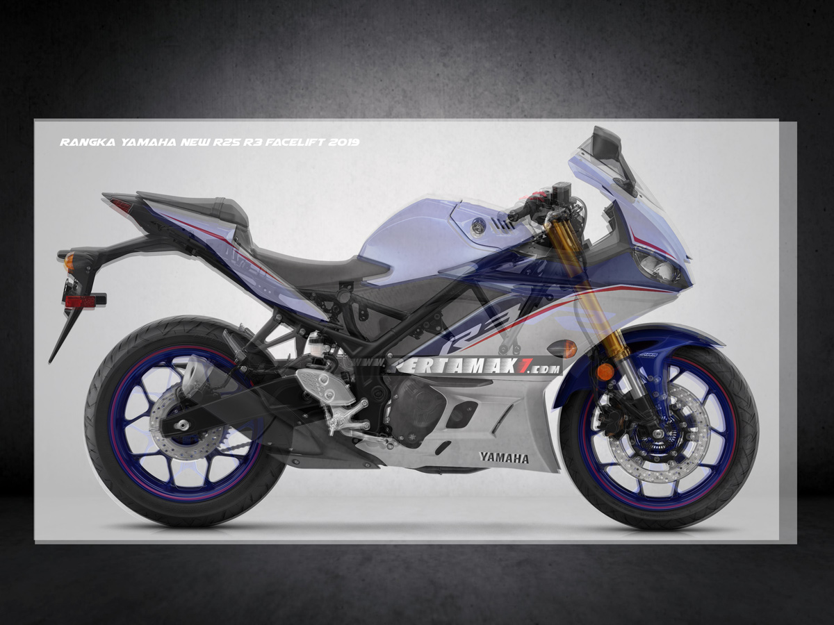Frame Yamaha New R3 Facelift 2019 Upside Down