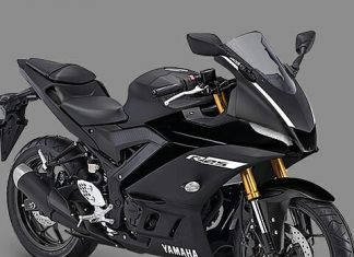 Headlamp Sipit Digimod Yamaha New R25 Facelift 2019 Makin Tajam Hitam P7