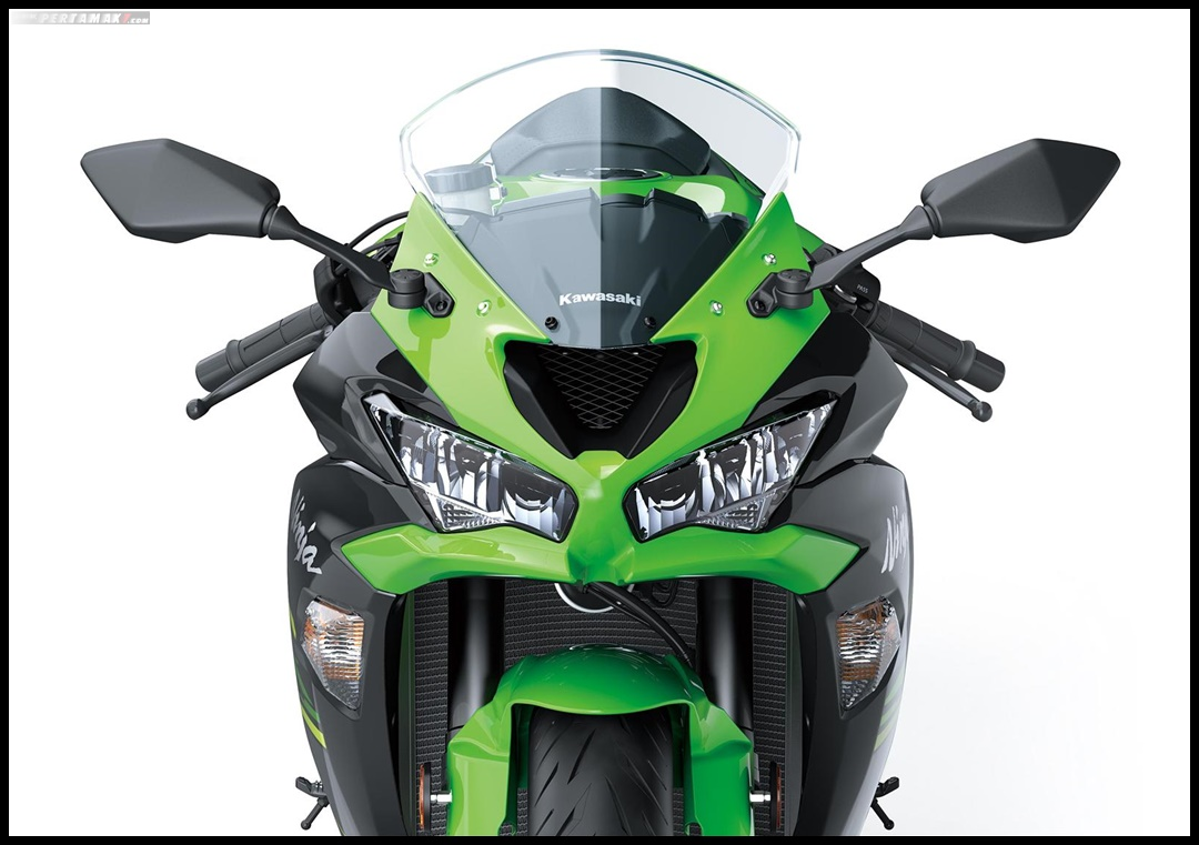 Headlight Kawasaki Ninja ZX6R 636 MY2019 Fron View Headlamp P7
