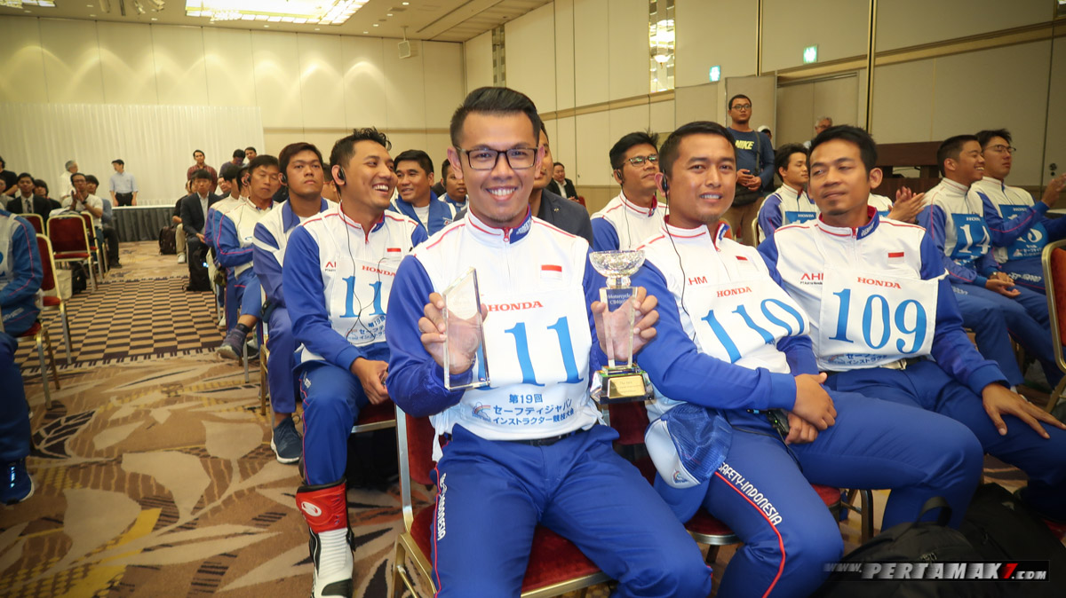 Ibnu Fachrizal, Instruktur Indonesia Juara The 19th Safety Japan Instructors Honda CB400SF