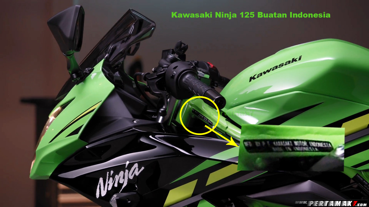 Kawasaki Ninja 125 Made In Indonesia
