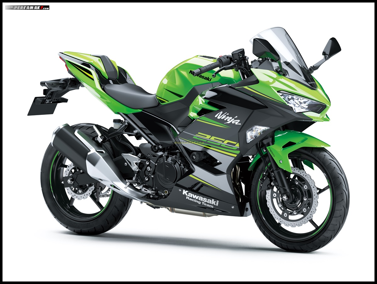 Kawasaki Ninja 250 ABS SE warna Lime Green Ebony Smart Key