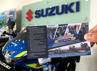 Kupon Suzuki Ready To MotoGP Sepang 2018