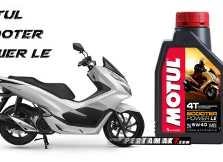 Motul Scooter Power LE Honda PCX Lokal