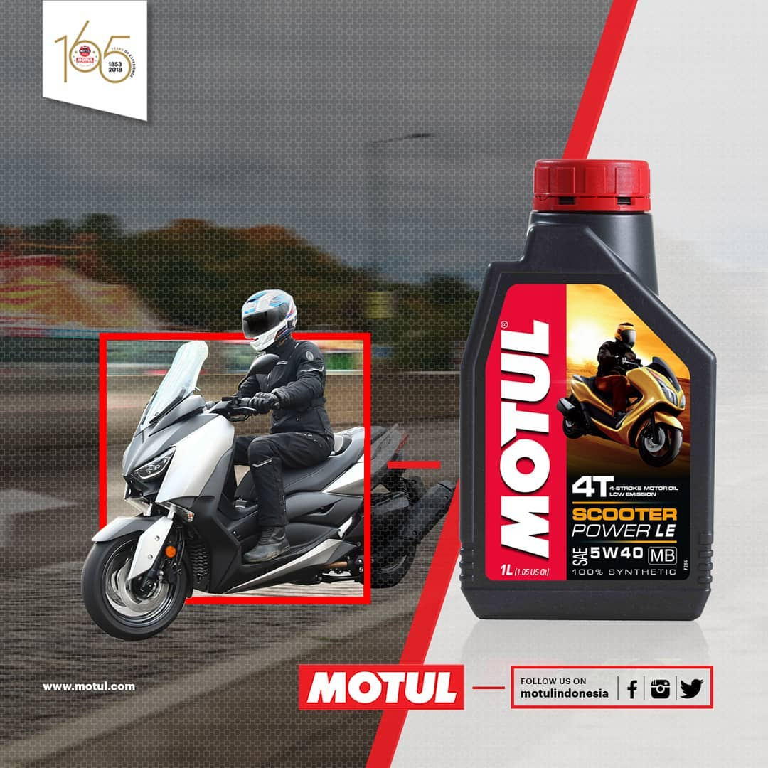 Motul Scooter Power LE kemasan 0,8 Liter