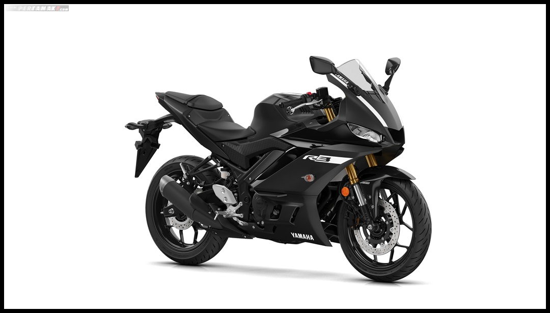 New Yamaha R3 Facelift 2019 Eropa Warna Hitam Power Black P7