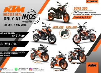 Produk KTM Indonesia All Out Ramaikan IMOS 2018