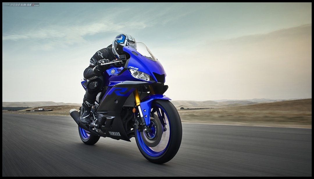 Race Mode Testride Yamaha New R3 Facelift 2019 Eropa P7