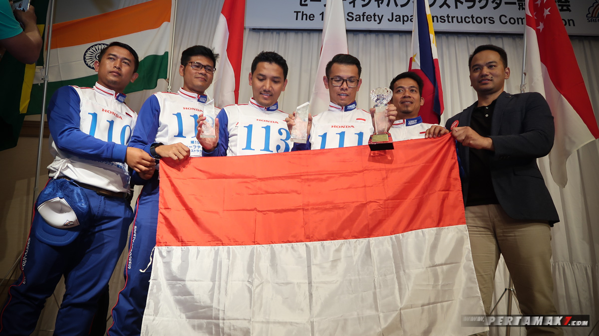 Selebrasi Wakil Indonesia The 19th Safety Japan Instructors Competition Suzuka P7