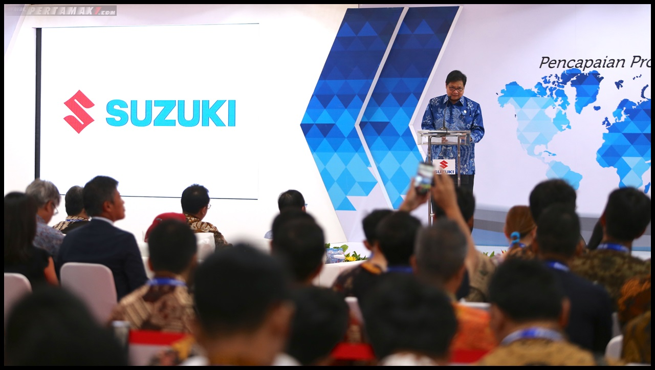 Suzuki Export Ceremony
