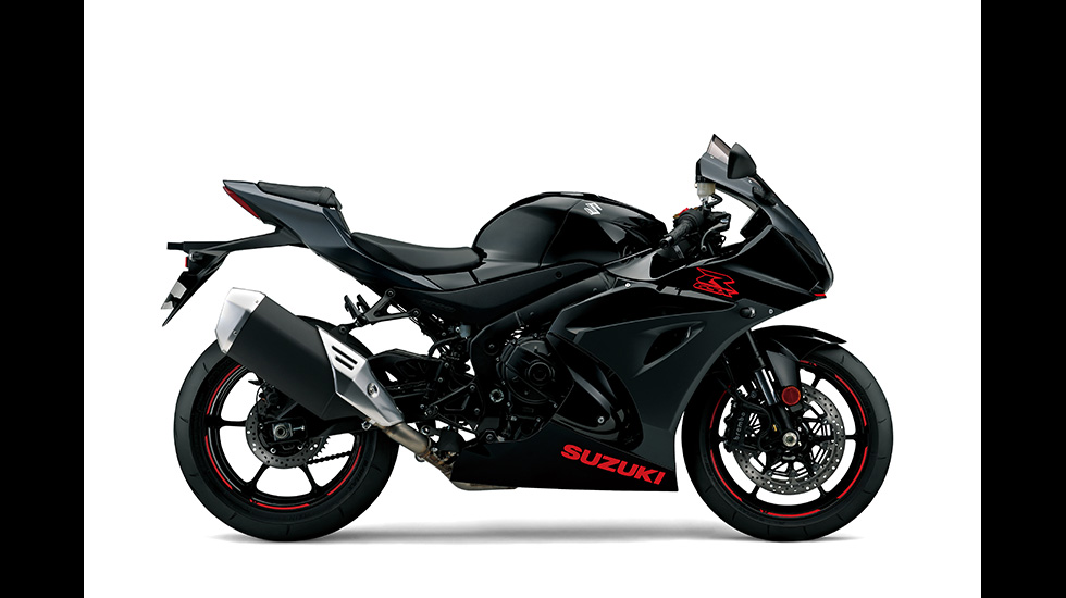 Suzuki GSX-R1000 MY2019 Glass Sparkle Black Metallic Mat Black No.2 (KGL) P7