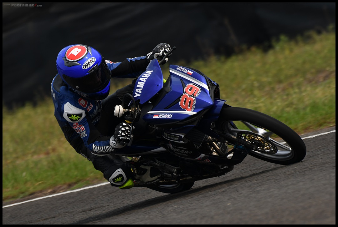 Wahyu Nugroho (Yamaha Racing Indonesia), Race 2 UB150