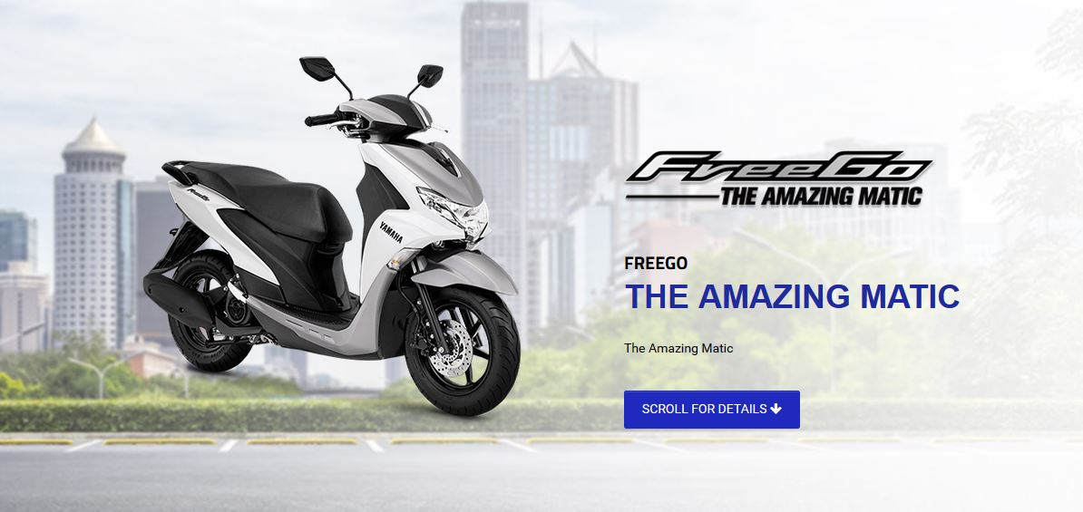 Yamaha FreeGO Indonesia STD