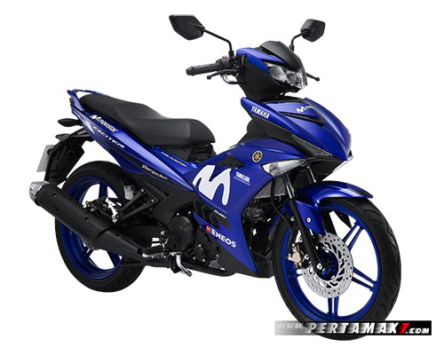 Yamaha Jupiter MX King Movistar 2018 Final Edition White Logo
