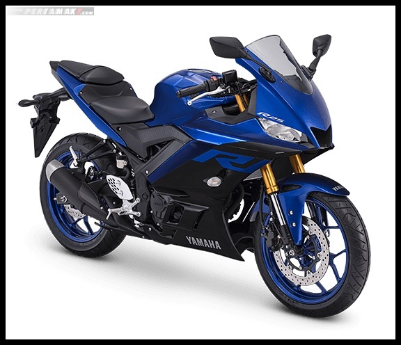 Yamaha R25 Facelift 2019 Warna Biru Racing Blue