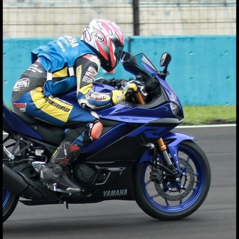 Media Testride Yamaha New R25